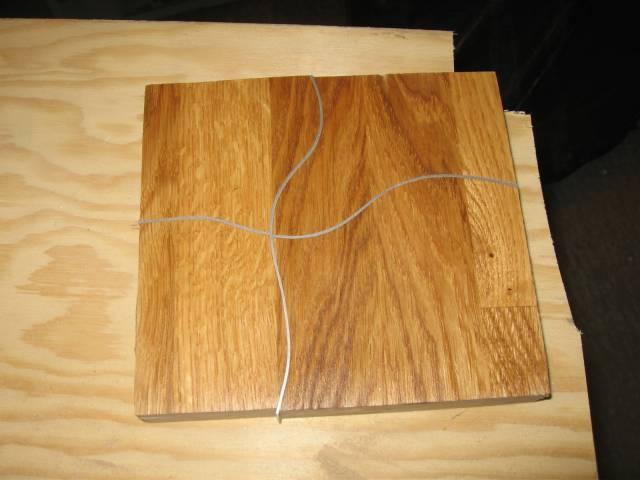 bordplate i ett trestykke